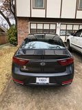 Kia Cadenza Custom Flush No Light Spoiler (2018 and UP) - DAR Spoilers