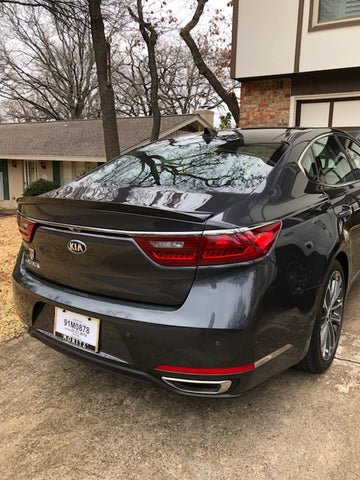 Kia Cadenza Custom Flush No Light Spoiler (2018 and UP)