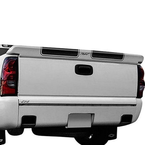 GMC Sierra Pick-Up (Not Stepside) Custom Tailgate No Light Spoiler (2007-2013) - DAR Spoilers