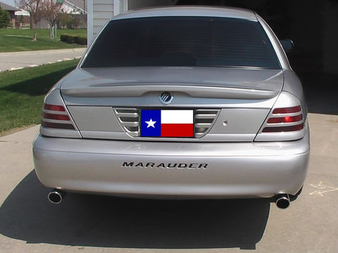 Mercury Marauder Factory Flush No Light Spoiler (2003-2004) - DAR Spoilers