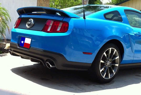 "Ford Mustang Factory 4 Post ""California Special"" No Light Spoiler (2010-2014) - DAR Spoilers"