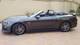 "Ford Mustang Convertible ""Black Mamba"" Custom 2Post No Light Spoiler (2015 and UP) - DAR Spoilers"