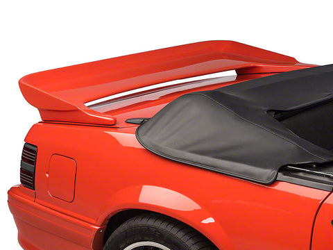 "Ford Mustang Coupe/Convertible ""Saleen Style"" Factory 2Post No Light Spoiler (1979-1993)"