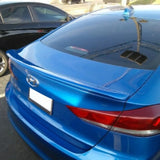 Hyundai Elantra Custom Lipmount No Light Spoiler (2017 and Up) - DAR Spoilers