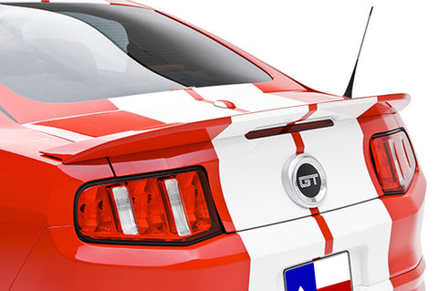 "Ford Mustang ""Boy Racer Style"" Factory Flush No Light Spoiler (2010-2014)"