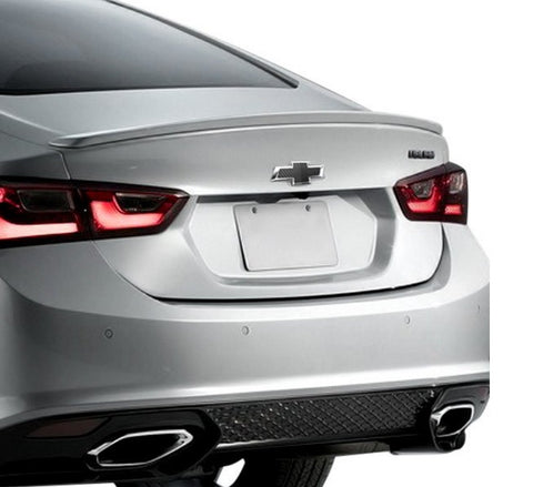 Chevrolet Malibu Factory Lip No Light Spoiler (2016 and Up) - DAR Spoilers