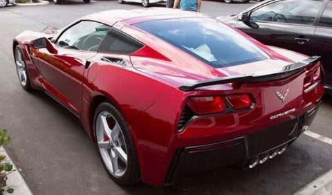 Chevrolet Corvette (C7) Factory High Rise Post No Light Spoiler (2014 and UP) - DAR Spoilers