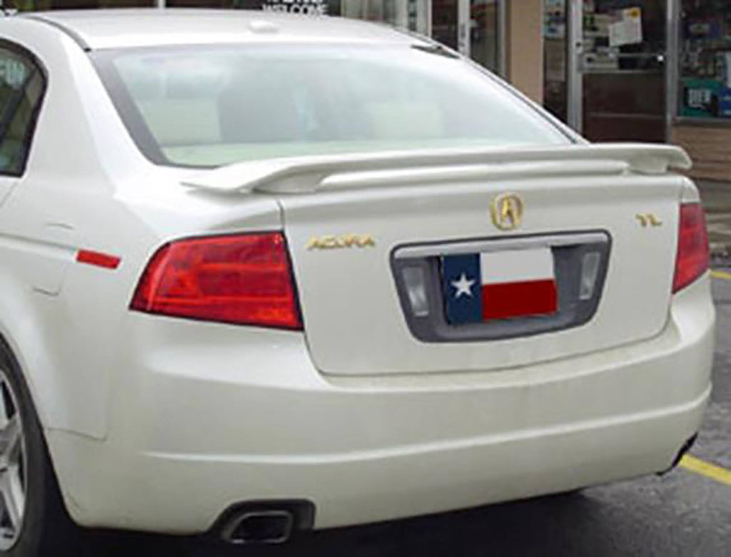 Acura TL Post Factory Post No Light Spoiler DAR Spoilers - Acura tl spoiler