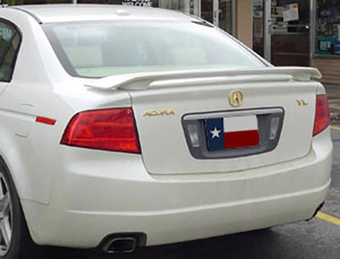 Acura TL 2-Post Factory Post No Light Spoiler (2004-2008) - DAR Spoilers
