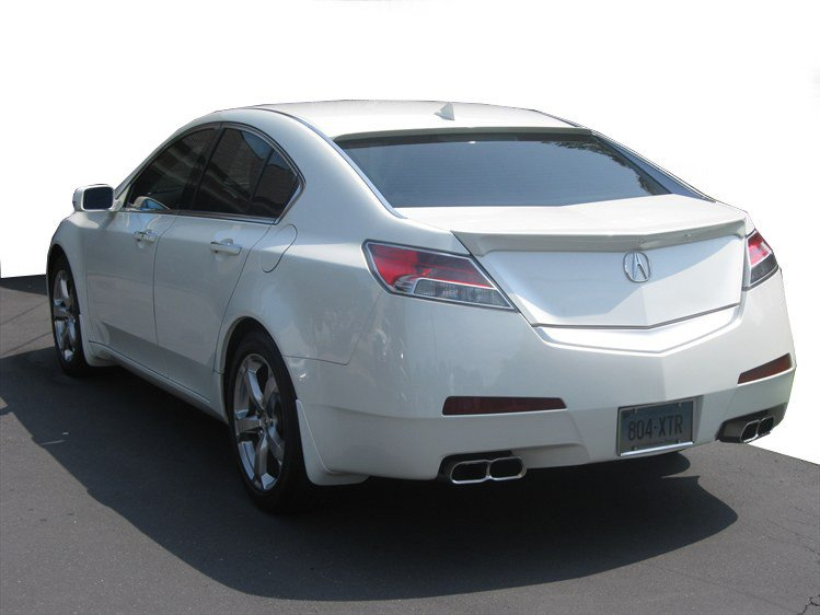 Acura TL Factory Lip No Light Spoiler And UP DAR Spoilers - Acura tl spoiler