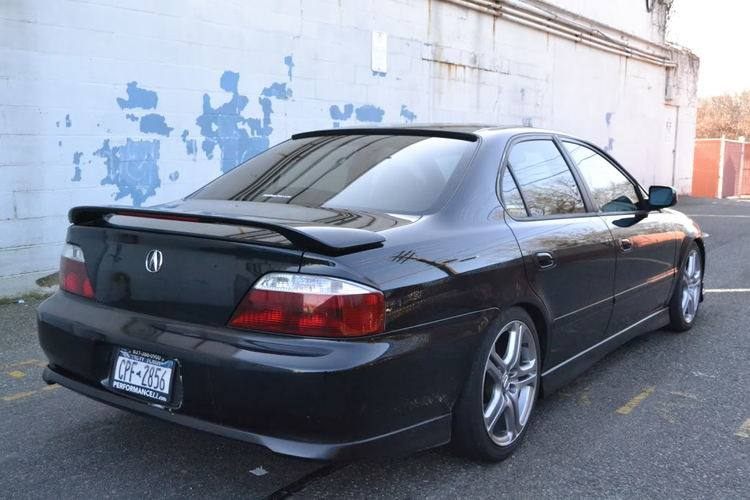 Acura TL Factory Post Lighted Spoiler DAR Spoilers - Acura tl 1999