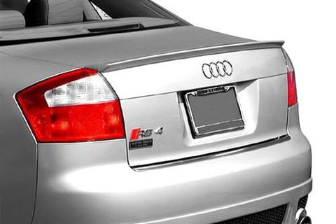 Rear Spoilers - Audi A4 Factory Lip No Light Spoiler (2002-2005)