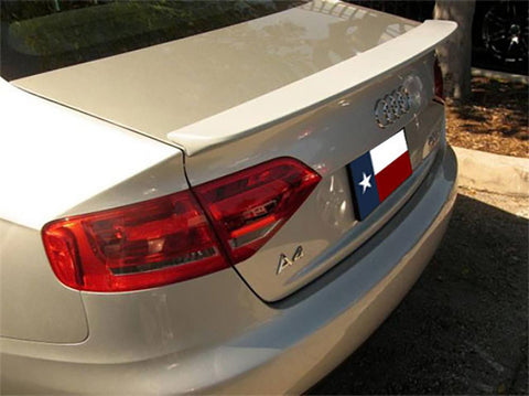 Audi A4 Factory Lip No Light Spoiler (2009 and UP) - DAR Spoilers