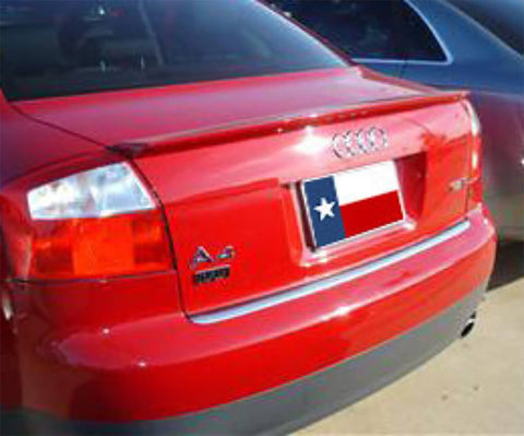 Rear Spoilers - Audi A4 S-Line Custom Lip No Light Spoiler (2006-2008)
