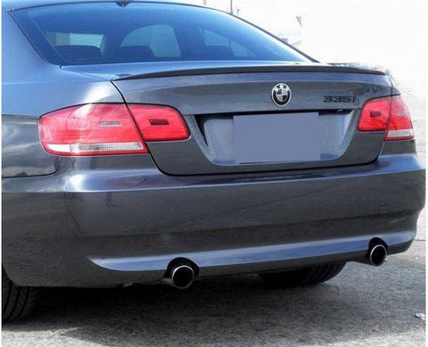 BMW 3 Series 2-Dr Factory Lip No Light Spoiler (2007-2012) - DAR Spoilers