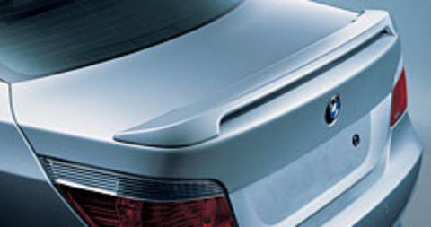 BMW 5-Series Factory Post No Light Spoiler (2004-2010) - DAR Spoilers