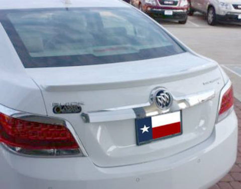 Buick Lacrosse Factory Lip No Light Spoiler (2010-2013) - DAR Spoilers