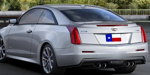 Rear Spoilers - Cadillac ATS Coupe Factory Lip No Light Spoiler (2015 And UP)