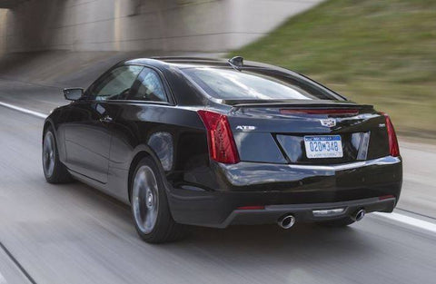 Cadillac Ats Coupe >> Cadillac Ats Coupe Factory Lip No Light Spoiler 2015 And Up