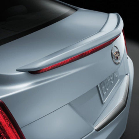 Cadillac ATS Sedan Factory Flush No Light Spoiler (2013 and UP) - DAR Spoilers