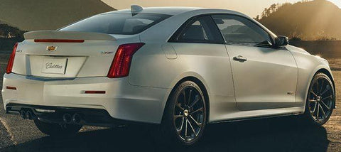 Rear Spoilers - Cadillac ATS-V Coupe Factory Lip No Light Spoiler (2015 And UP)