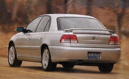 Cadillac Catera Sport Factory Post No Light Spoiler (1997-2002) - DAR Spoilers