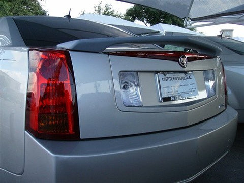 Cadillac CTS Custom Post No Light Spoiler (2003-2007) - DAR Spoilers