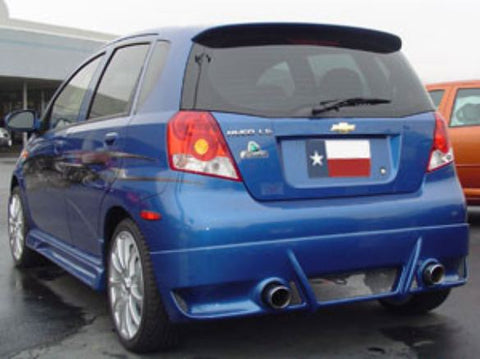 Rear Spoilers - Chevrolet Aveo 5-Dr Hatchback Factory Roof No Light Spoiler (2004-2011)