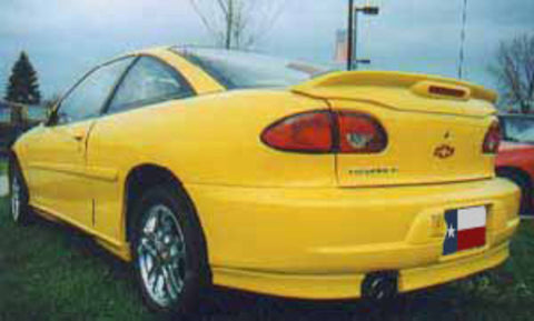 Chevrolet Cavalier Z24 Factory Flush Lighted Spoiler (1995-2002) - DAR Spoilers