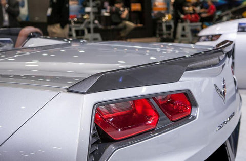Chevrolet Corvette (C7) Factory Flush No Light Spoiler (2014 and UP) - DAR Spoilers