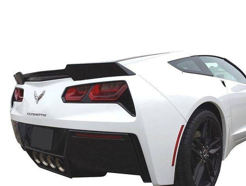 "Rear Spoilers - Chevrolet Corvette (C7) ""Wickerbill"" Inspired Custom Flush No Light Spoiler (2014 And UP)"