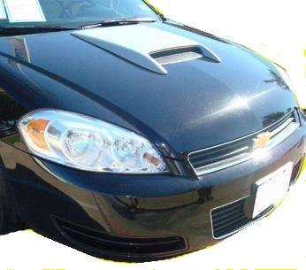 Chevrolet Equinox Custom Hood Scoop (2010-2013) - DAR Spoilers