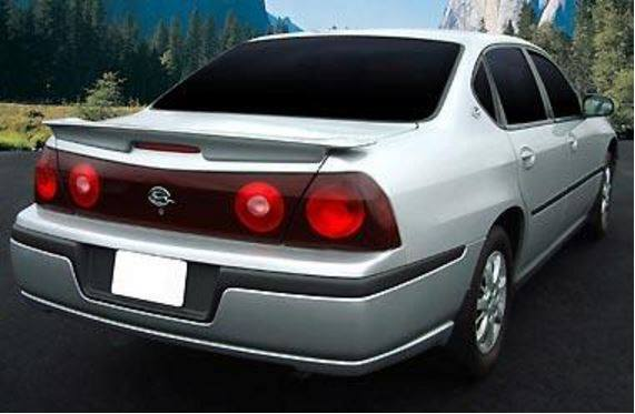 Chevrolet Impala Ss Factory Flush No Light Spoiler 2000 2005