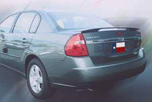 Chevrolet Malibu Factory Post No Light Spoiler (2004-2007) - DAR Spoilers