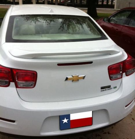 Rear Spoilers - Chevrolet Malibu Limited Model Custom Post No Light Spoiler (2016 And UP)