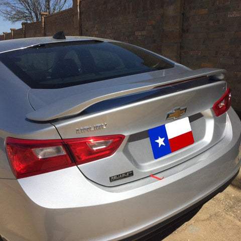 Chevrolet Malibu (Not Limited) Custom Post Lighted Spoiler (2016 AND UP) - DAR Spoilers