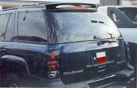 Chevrolet Trailblazer (Not Ext) Custom Roof No Light Spoiler (2002 and UP) - DAR Spoilers