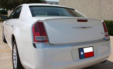 Chrysler 300 Custom Lip No Light Spoiler (2011 and UP) - DAR Spoilers