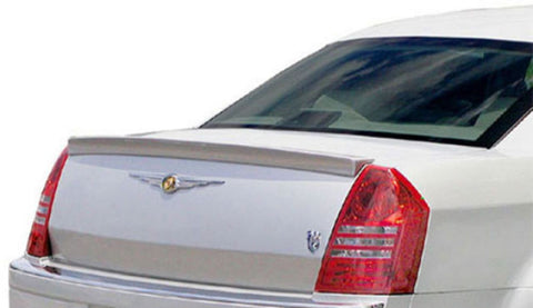 Rear Spoilers - Chrysler 300 (Large) Custom Lip No Light Spoiler (2005-2007)