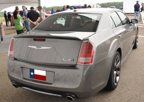 Chrysler 300 Srt-8 Factory Flush No Light Spoiler (2011 and UP) - DAR Spoilers