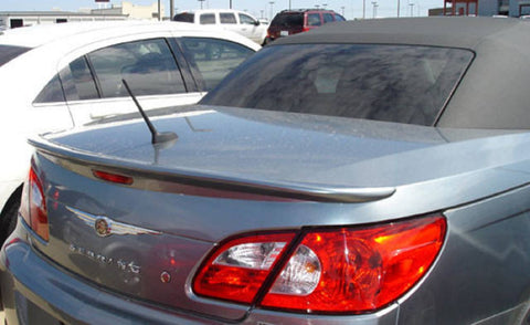 Chrysler Sebring Convertible Custom Lip No Light Spoiler (2008 and UP) - DAR Spoilers