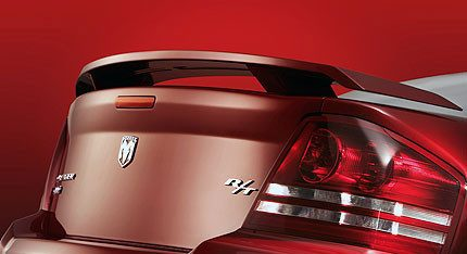 Dodge Avenger Custom 2Post No Light Spoiler (2008-2014) - DAR Spoilers