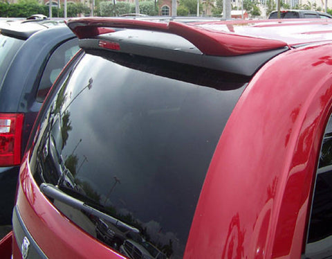 Rear Spoilers - Dodge Caravan Custom Roof No Light Spoiler (2008 And UP)