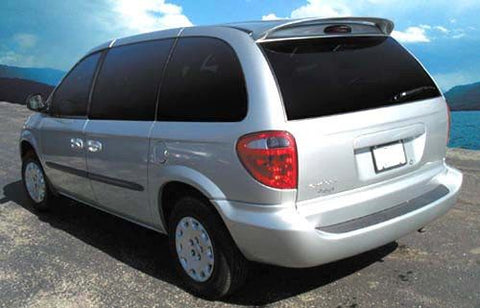 Dodge Caravan Factory Roof No Light Spoiler (2001-2007) - DAR Spoilers