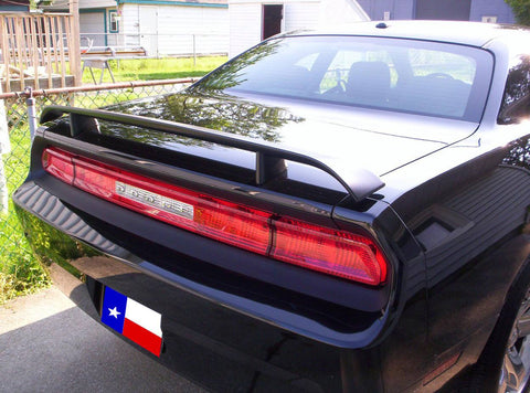 Rear Spoilers - Dodge Challenger Factory Post No Light Spoiler (2008 And UP)