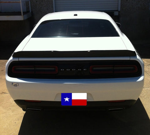 Dodge Challenger (Fits 2008+) Factory Flush No Light Spoiler (2015 and UP) - DAR Spoilers