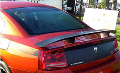 Dodge Charger Daytona Hemi R/T Factory Post No Light Spoiler (2006-2010) - DAR Spoilers