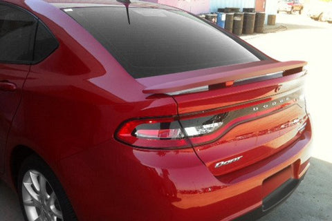 Dodge Dart Custom Post No Light Spoiler (2013 and UP) - DAR Spoilers
