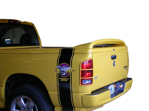 Dodge Ram Pick-Up Custom Post No Light Spoiler (2009 and UP) - DAR Spoilers