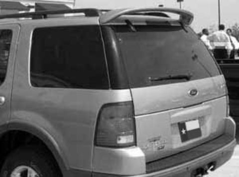 Rear Spoilers - Ford Explorer Custom Roof No Light Spoiler (2002-2007)